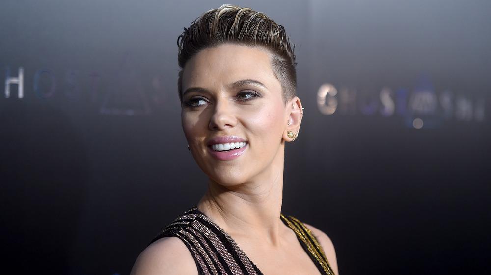 Scarlett Johansson bei Ghost in der Shell-Premiere