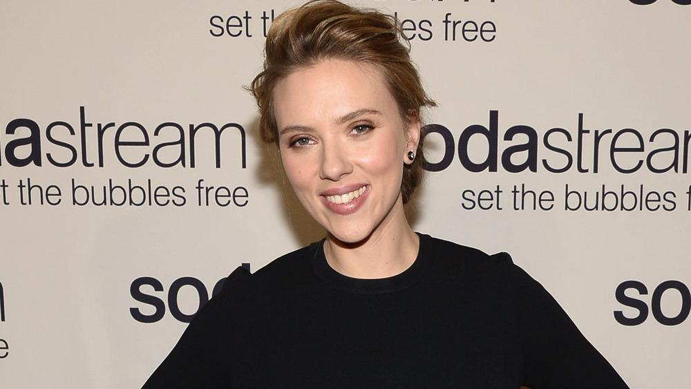 Scarlett Johansson beim Sodastream-Event