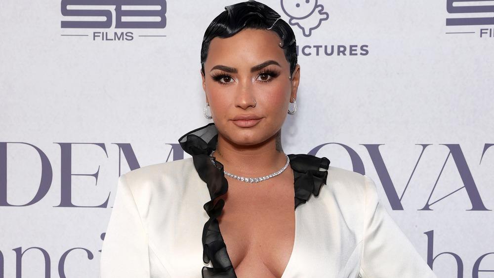 Demi Lovato besucht eine Veranstaltung für ihre Doku-Serie