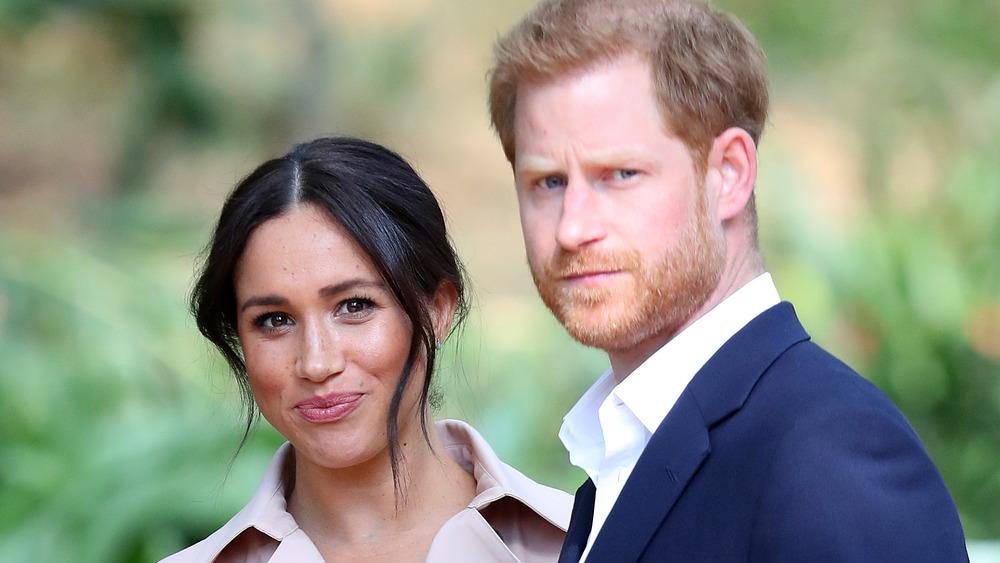 Prinz Harry und Meghan Markle bei einer Veranstaltung