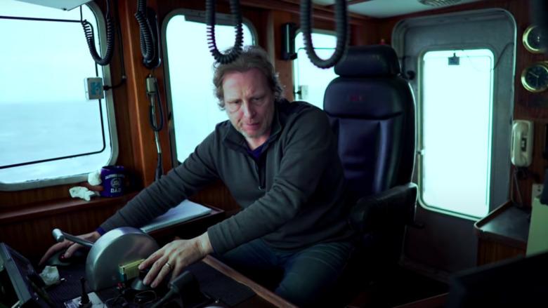 Captain Sig erhält Neuigkeiten über das F / V-Ziel