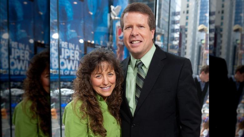 Michelle und Jim Bob Duggar lächeln zusammen