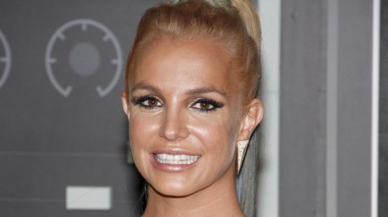 Britney Spears bräunen