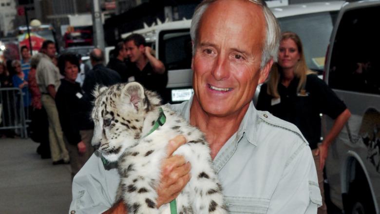 Jack Hanna und Baby Tiger