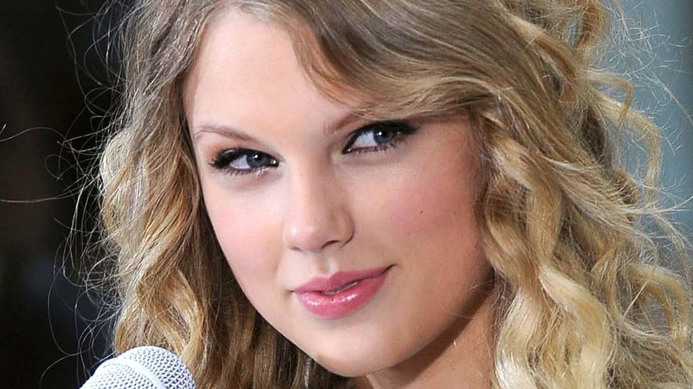 Taylor Swift während einer Aufführung