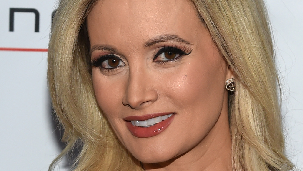 Holly Madison braune Augen