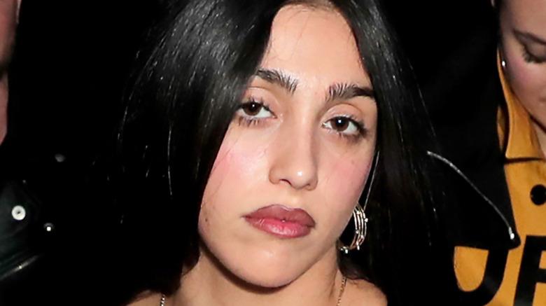 Lourdes Leon posiert während der Fashion Week vor der Kamera