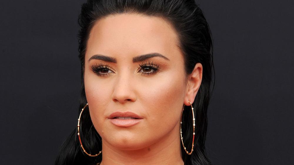 Demi Lovato posiert bei den Billboard Music Awards 2018