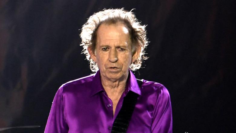 Keith Richards auf der Bühne