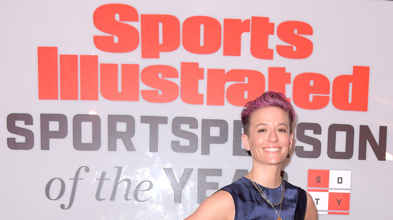 Megan Rapinoe Sports Illustrierte Ankündigung