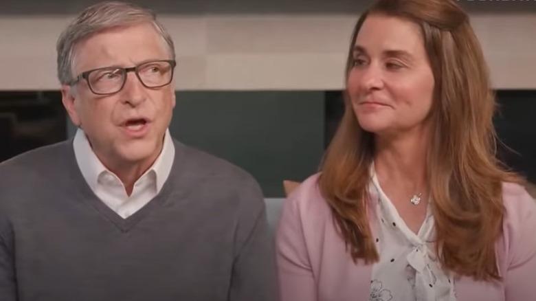 Bill und Melinda Gates in einem Interview