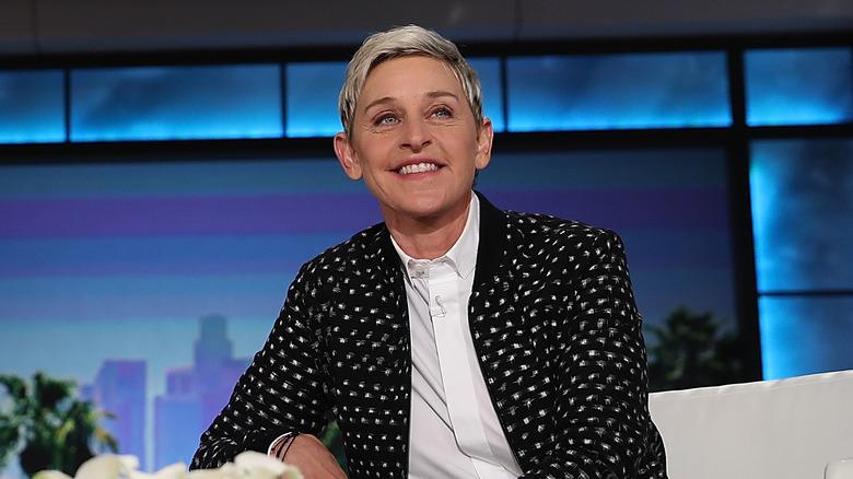 Ellen DeGeneres in der Ellen DeGeneres Show