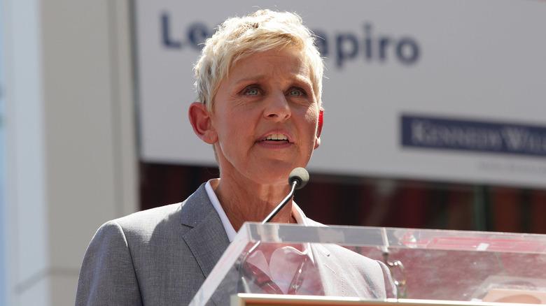 Ellen DeGeneres spricht