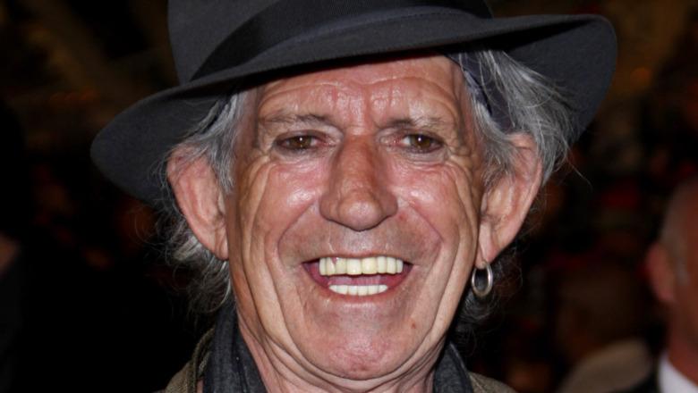 Keith Richards 'Gesicht