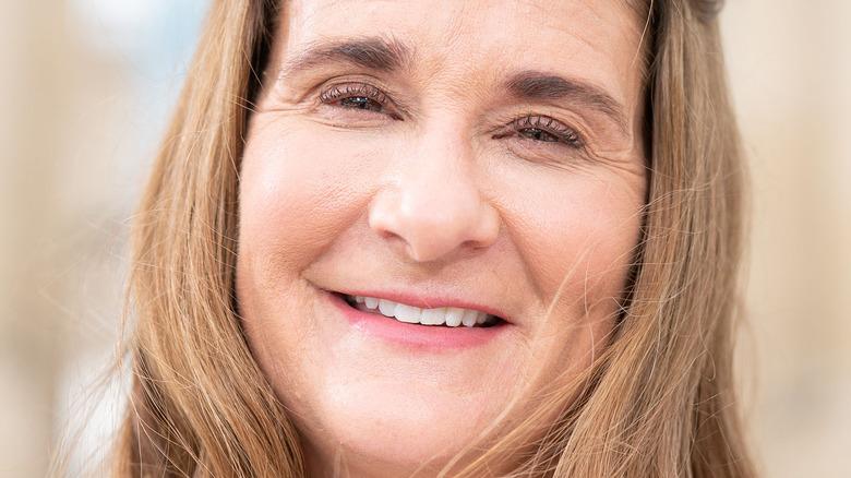 Melinda Gates lächelte