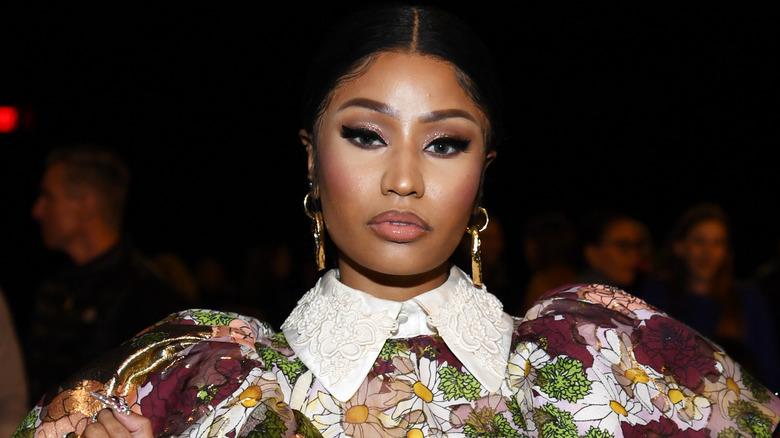 Nicki Minaj nimmt an der Landebahnshow Marc Jacobs Herbst 2020 teil