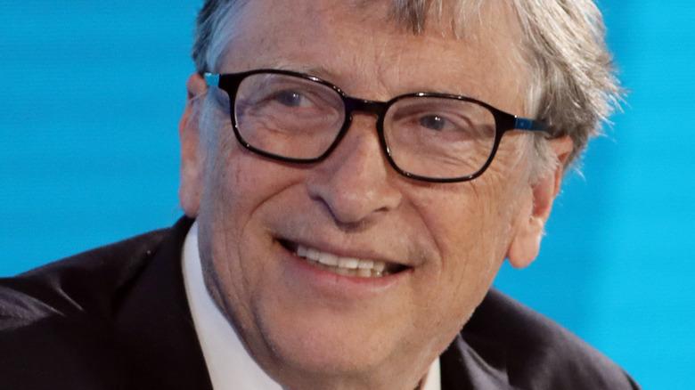 Bill Gates lächelt