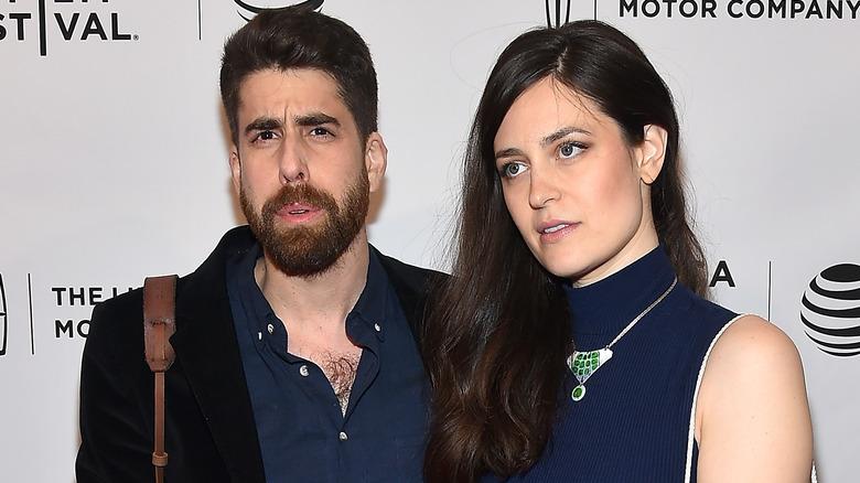 Adam Goldberg und Roxanne Daner posieren für die Kameras