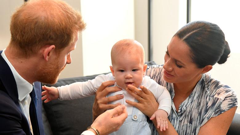 Prinz Harry, Meghan Markle und Archie