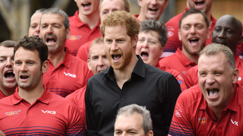 Prinz Harry jubelt bei den Invictus Games