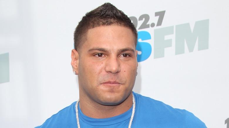 Ronnie Ortiz-Magro auf einem roten Teppich von 2012
