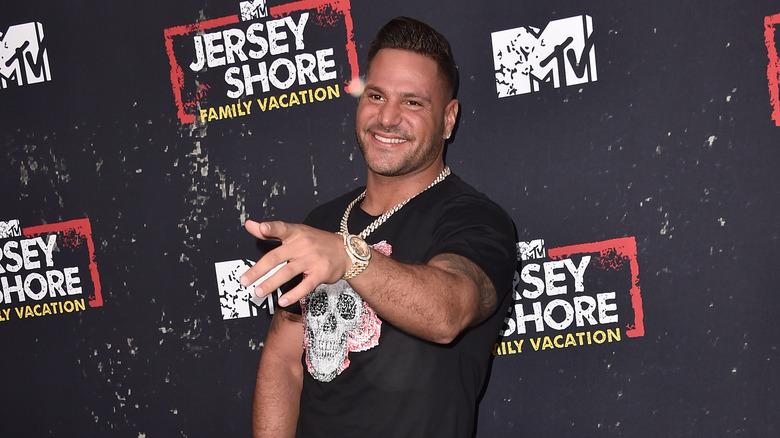 Ronnie Ortiz-Magro bei einem Event in Jersey Shore