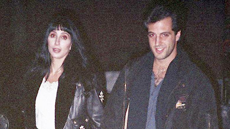 Cher und Rob Camilletti im Jahr 1988