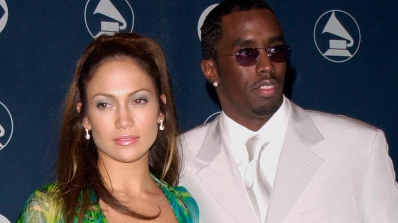 Jennifer Lopez und Diddy auf dem roten Teppich