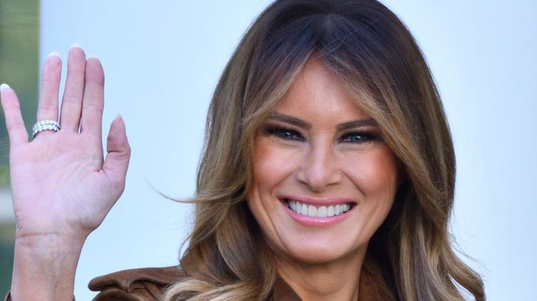 Melania Trump im Weißen Haus