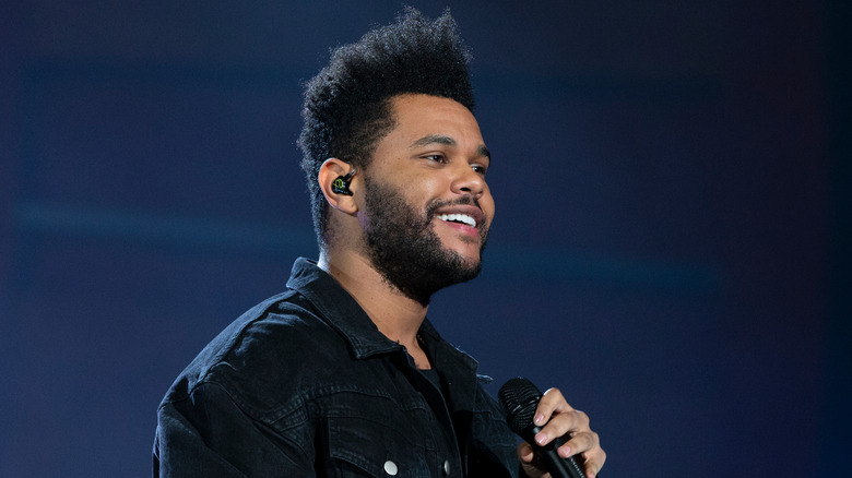 The Weeknd performt