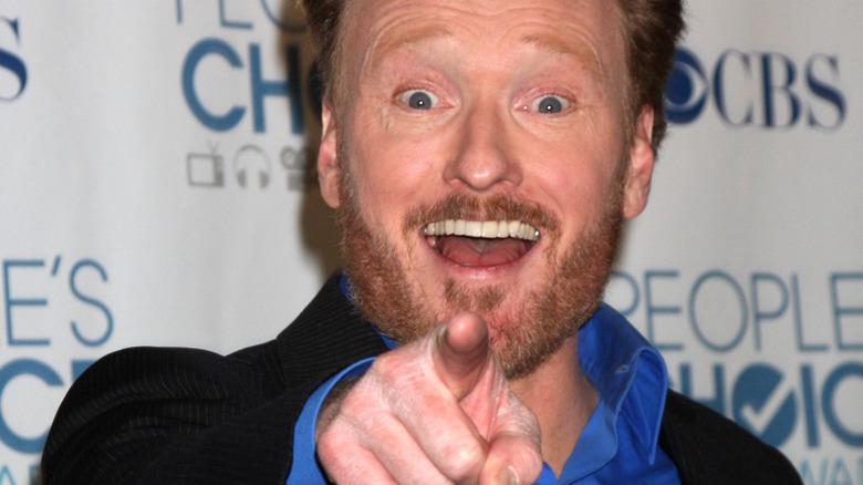 Conan O'Brien zeigt