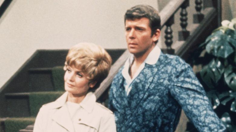 "Robert Reed und Florence Henderson bei ""The Brady Bunch"""