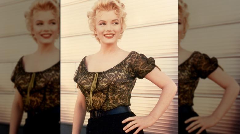 Marilyn Monroe lächelt