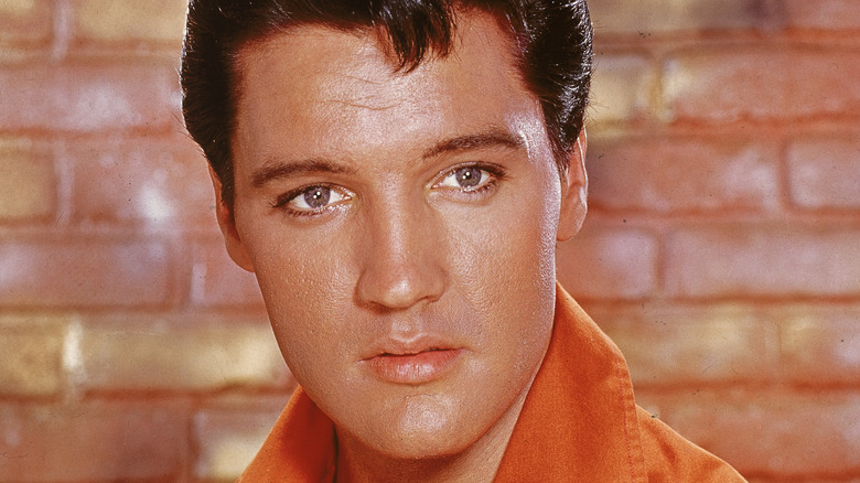 Elvis Presley starrt