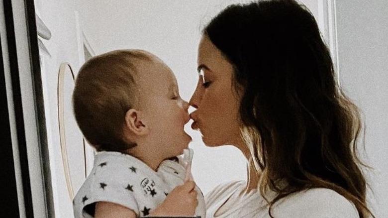 Jenna Dewan mit ihrem Sohn