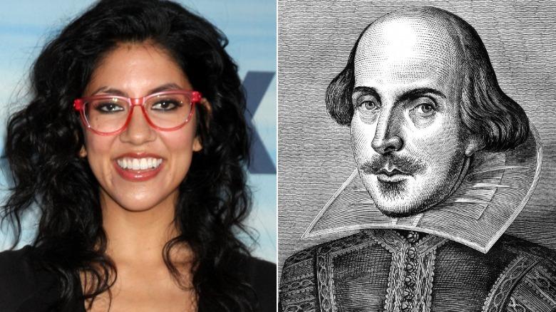 Stephanie Beatriz Brille, Zeichnung von William Shakespeare