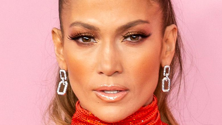 Jennifer Lopez auf dem roten Teppich