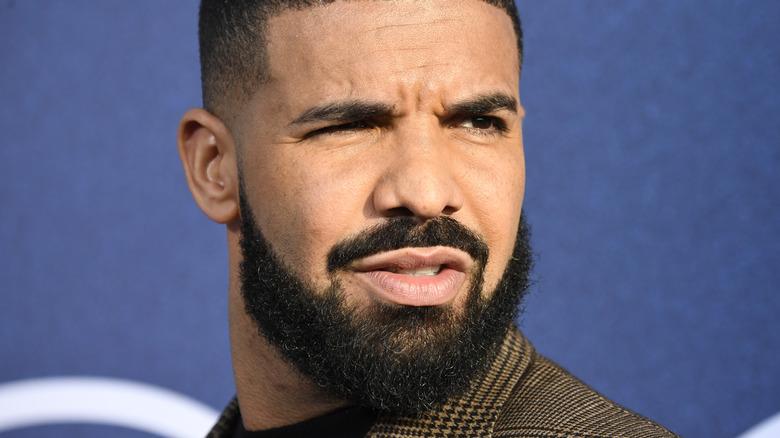 Drake schaut weg