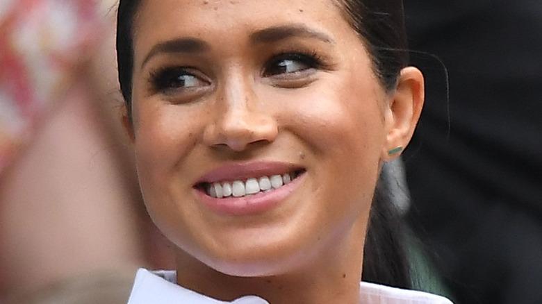 Eine lächelnde Meghan Markle