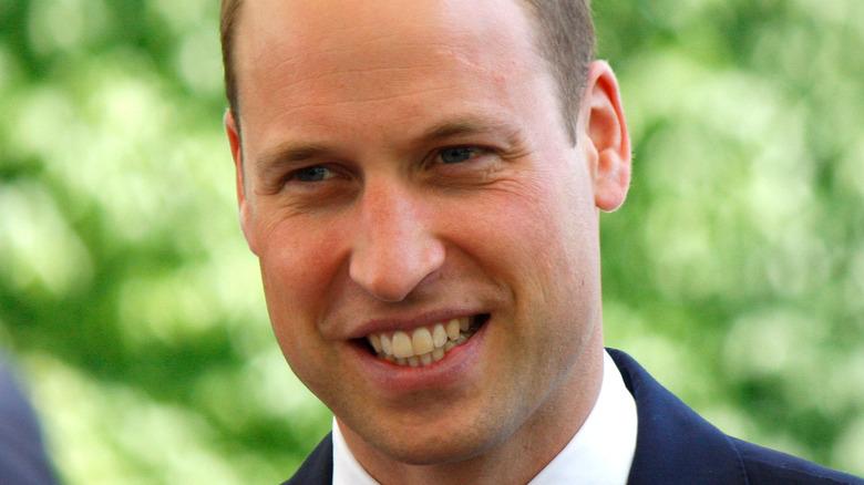Prinz William draußen
