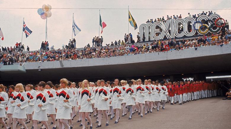 Eröffnungsfeier der Olympischen Spiele 1968 Olympic
