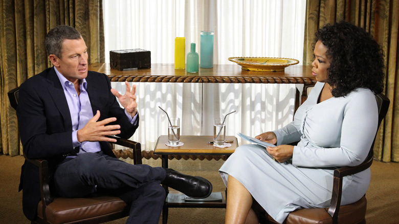 Lance Armstrong im Gespräch mit Oprah Winfrey