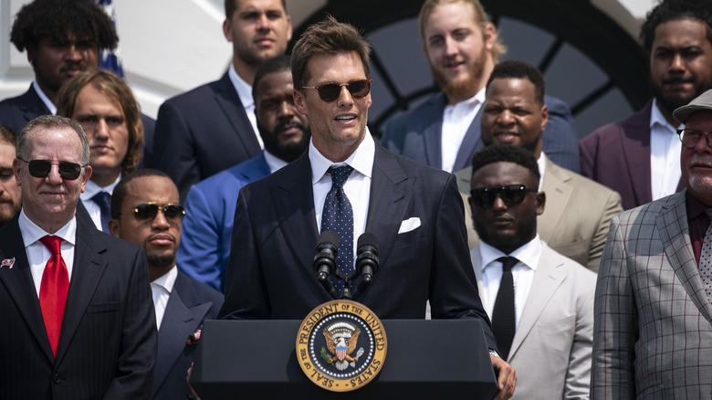 Tom Brady Weißes Haus