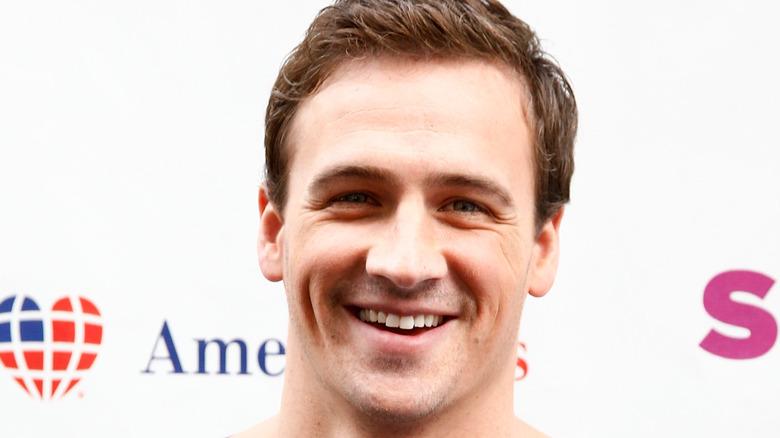 Ryan Lochte lächelt