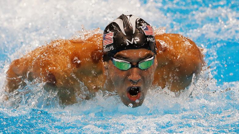 Michael Phelps schwimmen