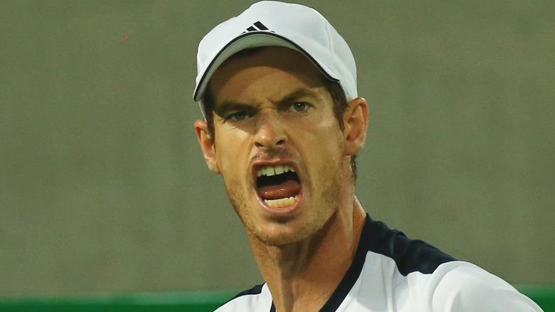 Andy Murray schreit