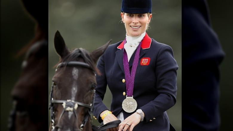 Zara Tindall zu Pferd