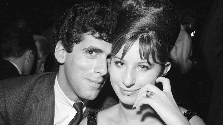 Elliott Gould und Barbra Streisand