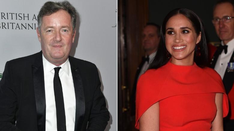 Piers Morgan und Meghan Markle