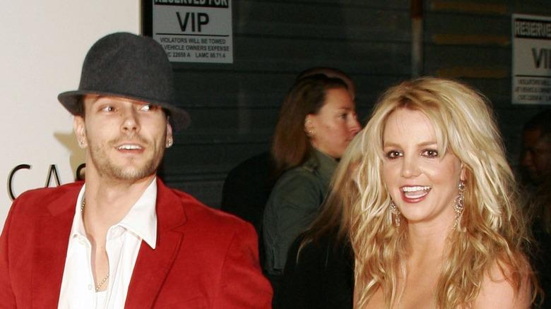 Kevin Federline und Britney Spears auf dem roten Teppich